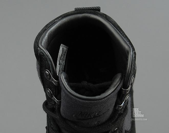 Nike Air Force 1 De Alta Dcn Negro Bota Militar RPGWqSv