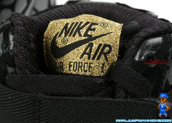 Nike Air Force 1 High Supreme LE Womens Black Metallic Gold - Air 23 - Air  Jordan Release Dates aba15fe6ee