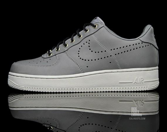 "daed33283220 Nike Air Force 1 Low ""Hiking Pack"" Color  Medium Grey Medium Grey-Sail  Style  318775-010"