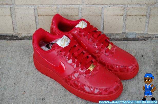 Nike Air Force 1 Low Premium Valentine S Day 2010 Air 23 Air