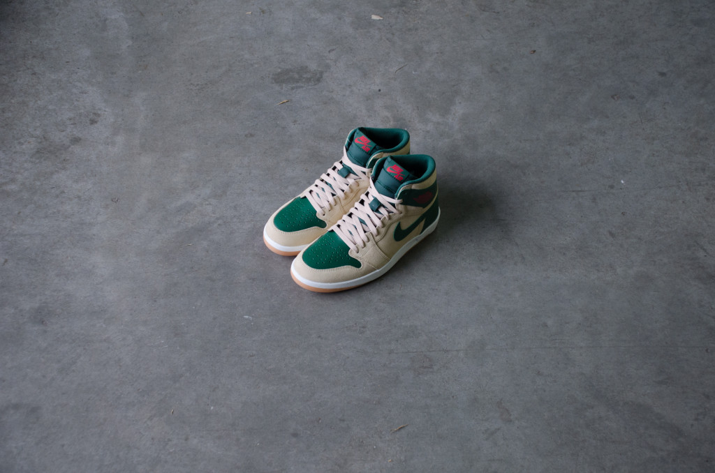 uk availability c5d3d 2cca4 Air Jordan 1 High The Return Color  Sand Dune University Red-Gorge Green- White Style  768861-206. Price   150.00