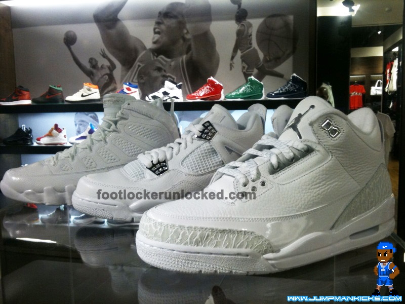 new arrival a0565 46d1f Air Jordan III, IV, and IX Silver Anniversary on Saturday! - Air 23 - Air  Jordan Release Dates, Foamposite, Air Max, and More