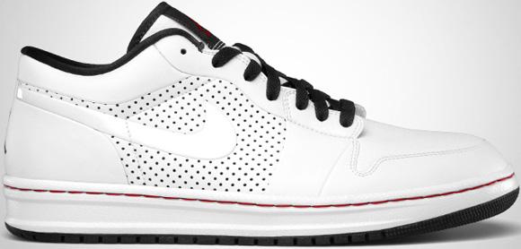 super popular bae2a c8b5a Air Jordan Alpha 1 Low White Black-Varsity Red