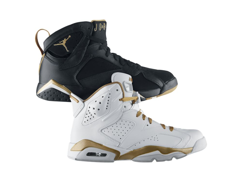 "cheaper b5cde fa837 Air Jordan ""Golden Moments"" Pack Released Today"