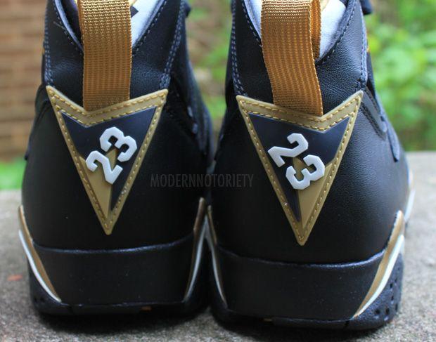 Retro Jordans 7 Gold Air Jordan 6/7 Gold Medal Pack