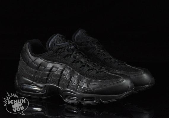 78ca77e366d Nike Air Max 95 Black/Black-Croc - Air 23 - Air Jordan Release Dates ...