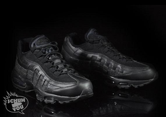 get online factory outlets shop Nike Air Max 95 Black/Black-Croc - Air 23 - Air Jordan ...