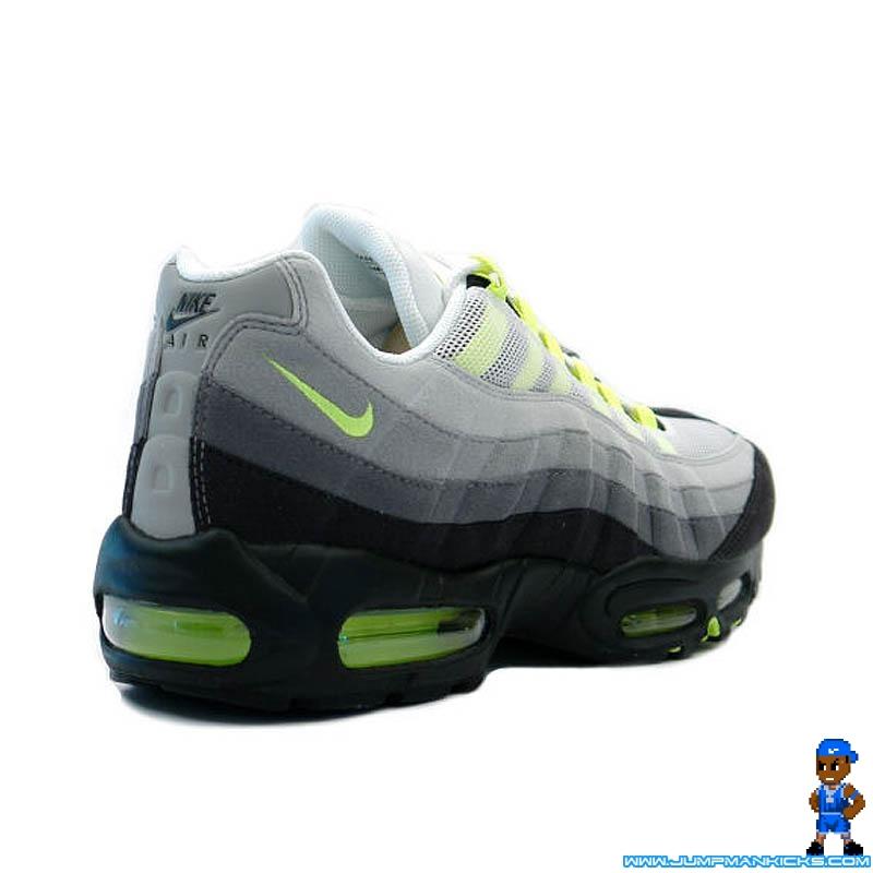 Nike Air Max 95 Cool GreyNeon Yellow Air 23 Air Jordan