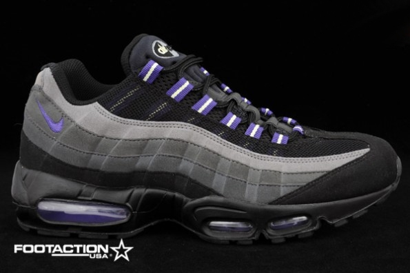 nike air max 95 black purple color