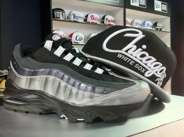 Nike Air Max 95 BlackMetallic Silver