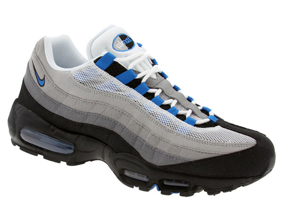 nike air max 95 blue spark for sale