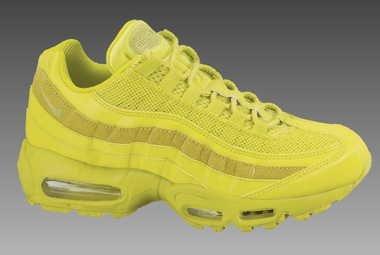 03d7ffc234ad Nike Air Max 95 Womens - High Voltage Sonic Yellow - Air 23 - Air ...