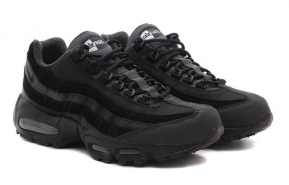 131ed4fa15d3 Nike Air Max 95 Sneakerboot BLACK BLACK 806809-001 NEW 2017