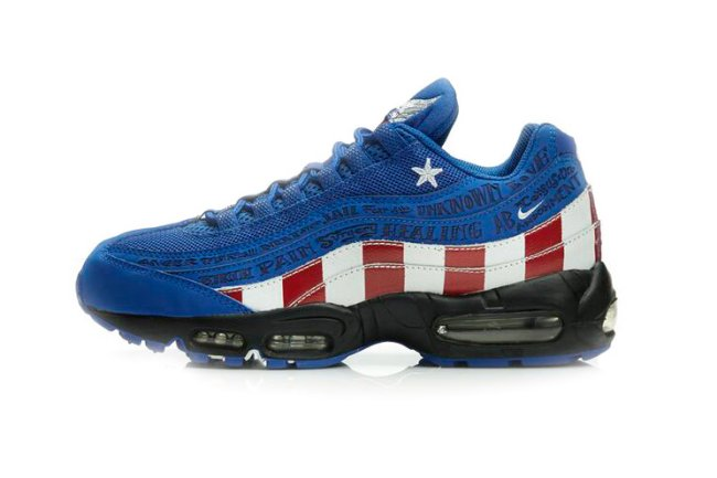 686b448fb9a Nike Air Max 95. Color  Varsity Royal White-Varsity Red Style  318351-411.  Release  07 06 2013. Price   140.00. Nike Air Max 95 Doernbecher size 10 ...