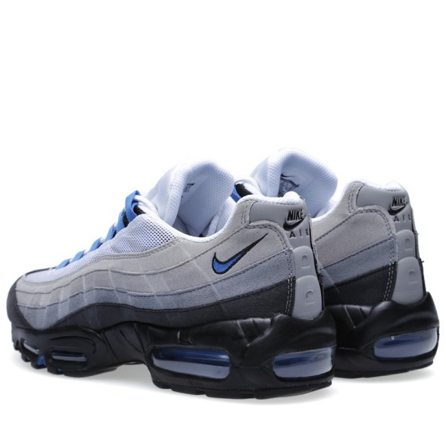nike air max 95 color white blue spark neutral grey style 609048 104Nike Air Max 95 Blue Spark