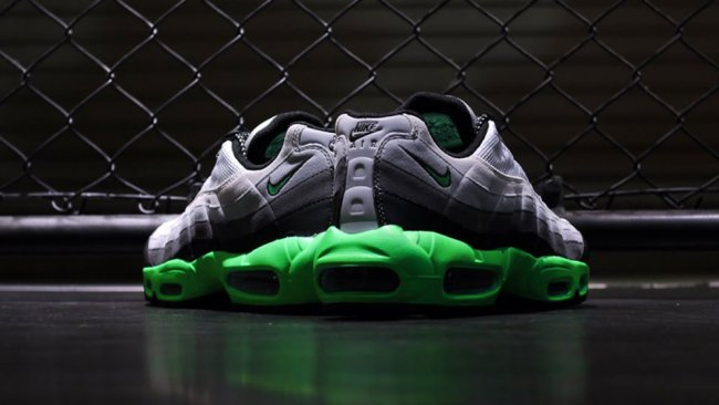 premium selection 14b15 50af9 Nike Air Max 95. Color  Black Poison Green-Dark Grey-White Style  609048-053