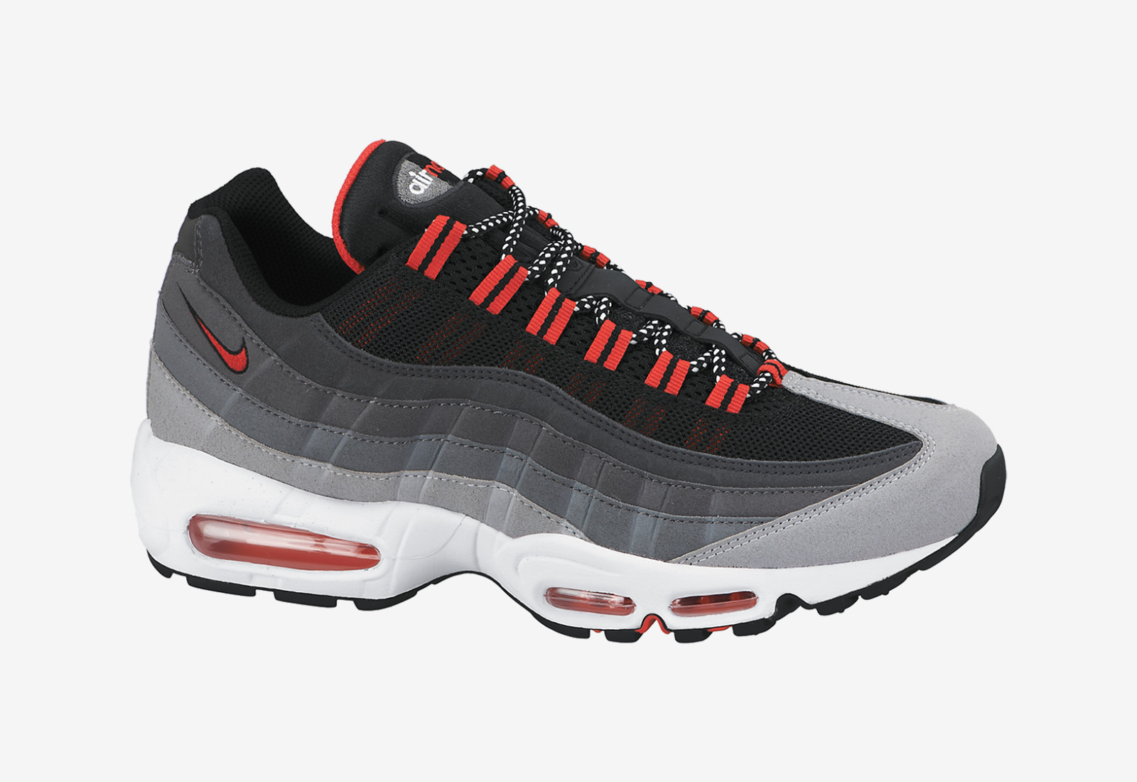 4e48057736 nike air max 95 grey red > OFF69% Discounts