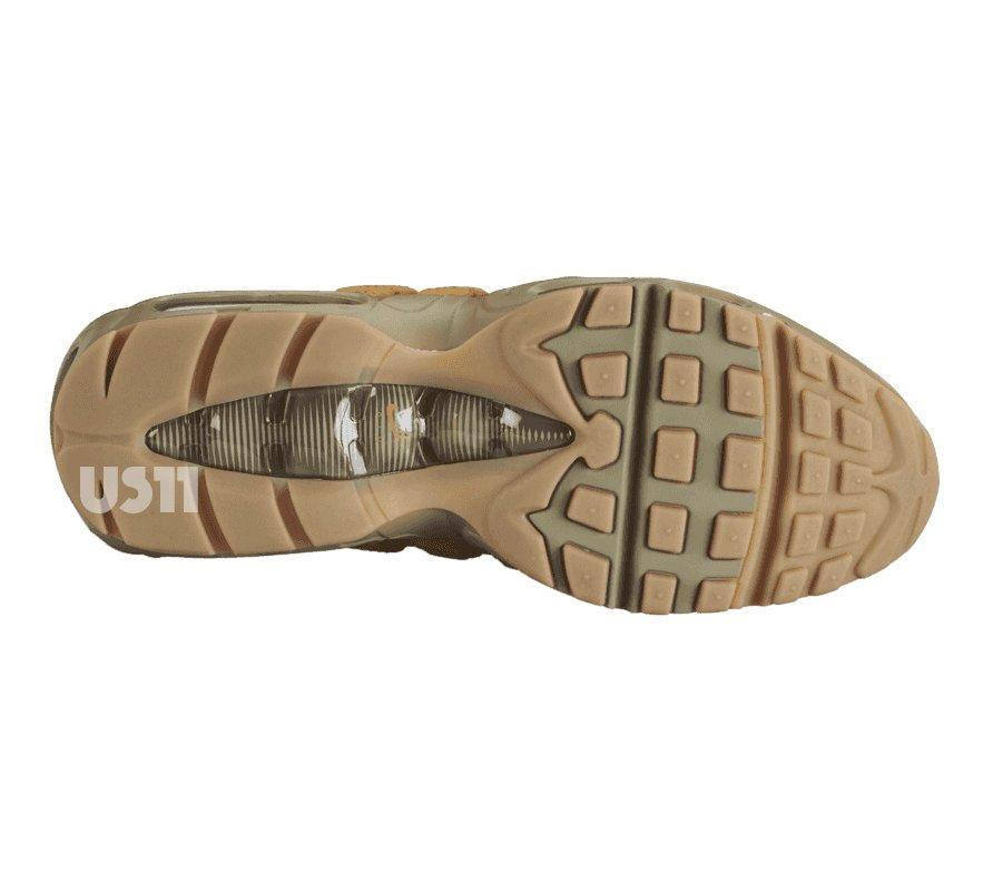 Air Max 95 Prm wheat Nike 538416 700 bronzebaroque