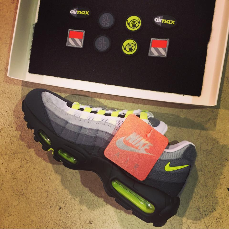 """best sneakers 49337 a450f They are scheduled to release on March 26. What sneaker would you like to  see receive the """"Patch"""" treatment  Nike Air Max 95 """" ..."""