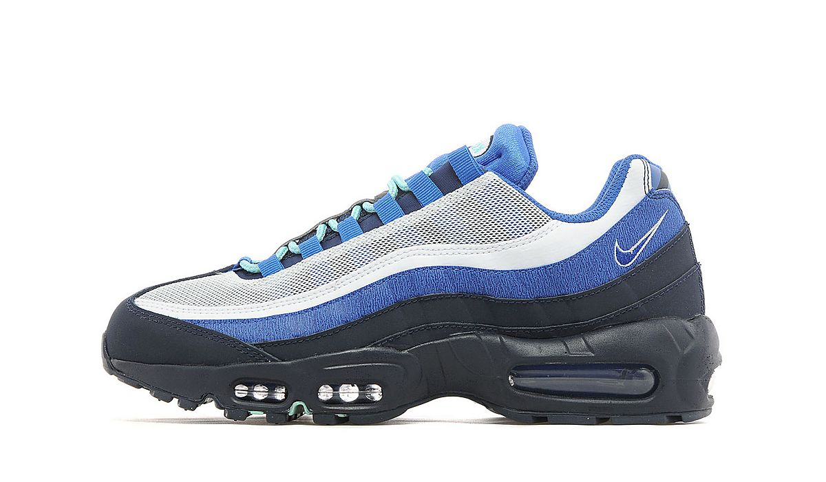 best service fc597 9044e Nike Air Max 95 Royal Blue   White