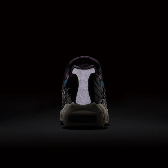 nike womens air max 95 nocturne collection port wine space blue 8med