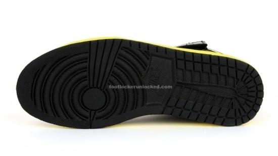 new concept b842f fbf94 Air Jordan 1 Retro High Strap Black Volt Yellow   NikeTalk