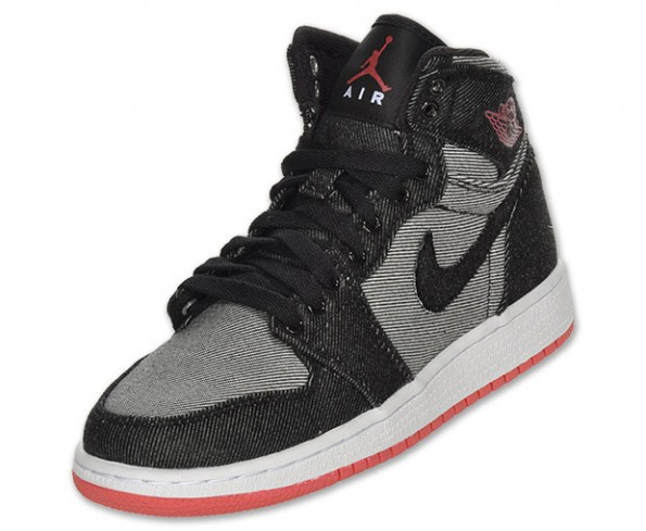 42cbba6ffb3f39 Youth (GS) Air Jordan 1 Retro High OG Black University Red 575441-022