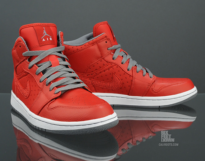 7014cadb832 Air Jordan 1 Phat - Varsity Red Cool Grey-White - Available