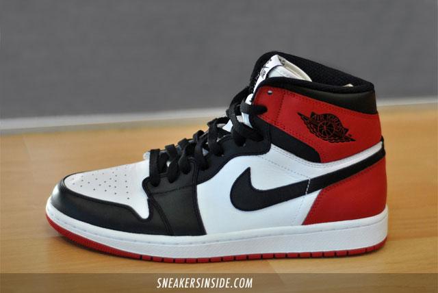 huge selection of 26487 98ea7 Nike Air Jordan 1 I Retro High OG Black Toe sz 11.5 Black Red bulls 2016  VNDS