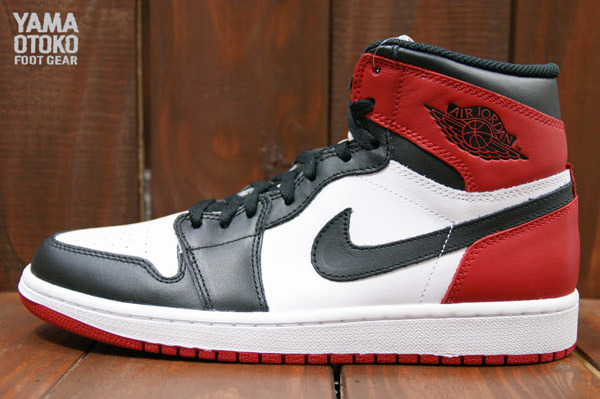 promo code 065db e4701 Air Jordan 1 (I) Retro High OG Color  White Black-Gym-Red Style   555088-184. Release  05 25 2013. Price   140.00