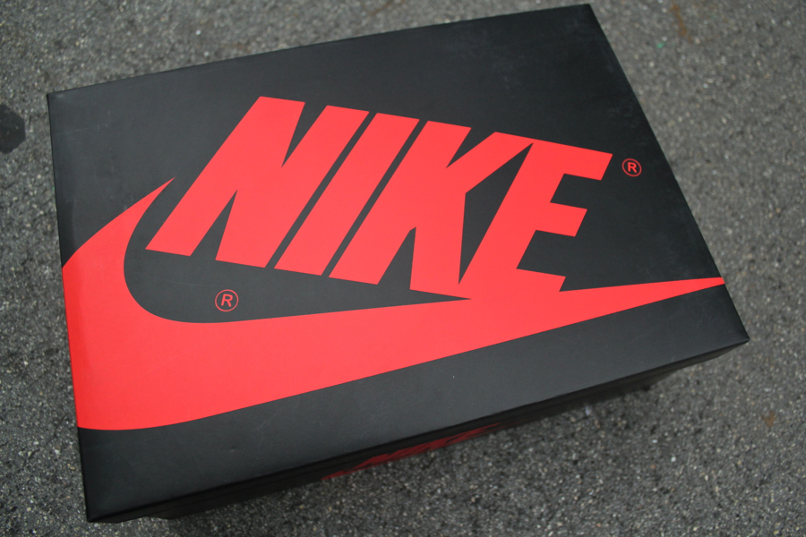 Air Jordan 1 In A Carton Nike Accidentally