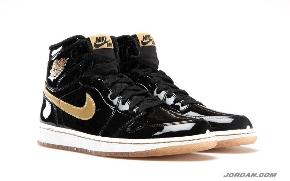 b887a8486baf74 Black Metallic Gold-White Air Jordan 1 High OG will release on Saturday