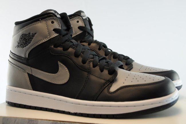 554f1125152c8a Air Jordan 1 (I) Retro High OG Color  Black Soft Grey Style  555088-014.  Release  07 13 2013. Price   140.00