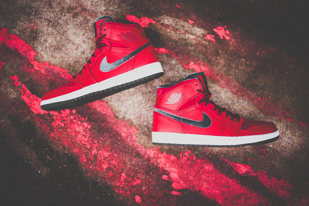 buy popular 14831 1109e Air Jordan 1 (I) Retro High Premier Color  Varsity Red Dark Army-White  Style  332134-631. Release  12 02 2013. Price   115.00