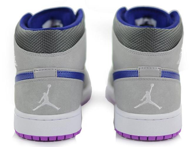 new style 25c37 aacd8 ... new zealand air jordan retro 1 womens silver purple 362ec cbb62