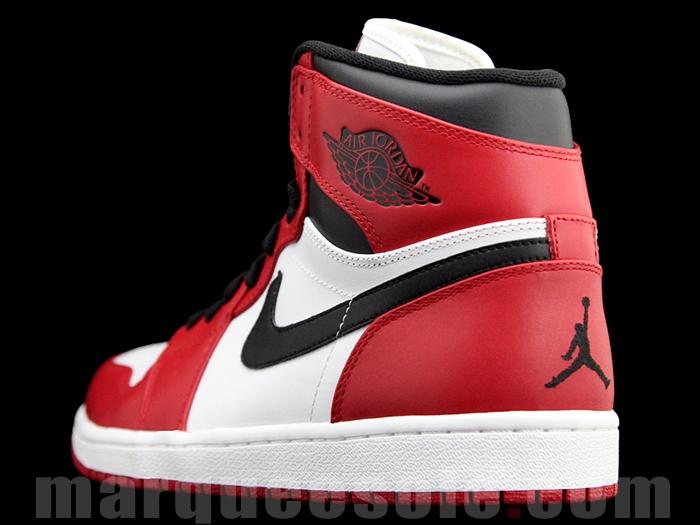 6efc26ac7f482e Air Jordan 1 Retro High - White Varsity Red-Black
