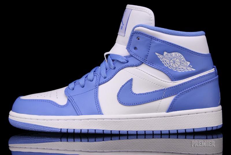 pretty nice 2b2f2 be142 Air Jordan 1 Retro White University Blue Available Early