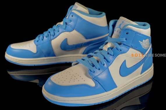 20c1401ee4932a Air Jordan 1 (I) Phat Color  White University Blue-White Style  554724-106