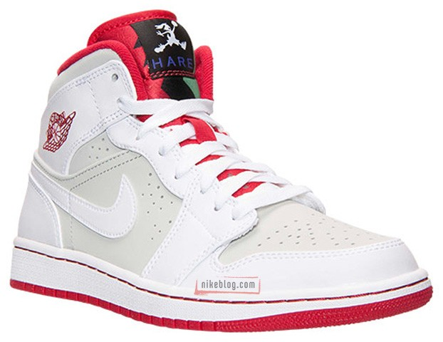 89b55f55189a1b Air Jordan 1 (I) Mid WB Color  White True Red-Light Silver-Black Style   719551-123. Release  04 02 2015. Price   125.00