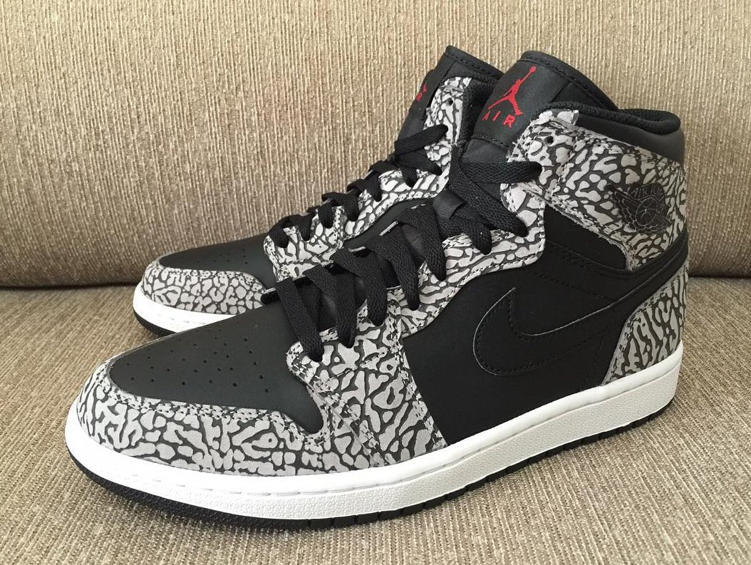 ... remains unknown as to whether the Air Jordan 1 Retro High Black Cement  sneaker will hit stores a5eb9278dfc4