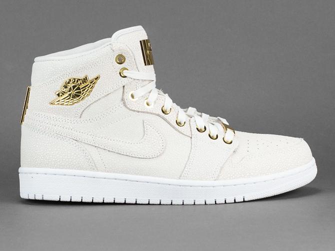 Jordan 1 Pinnacle Weiß