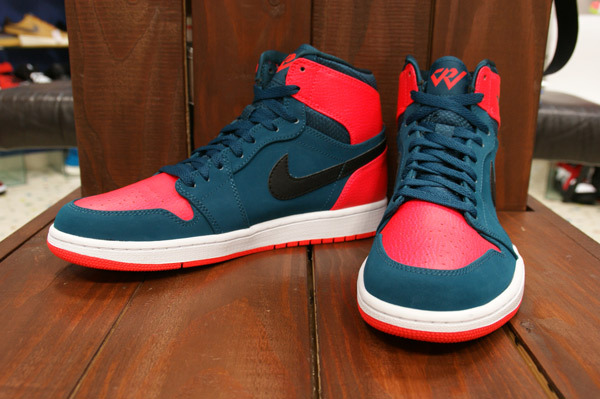 hot sale online 98834 712de Air Jordan 1 Retro High Color  Teal Black-Infrared 23-White Style   332550-312