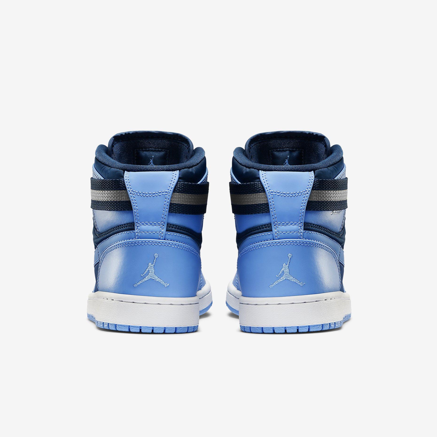 sale retailer 3836a 98f41 Price   125.00. Nike Air Jordan 1 High Strap French Blue University Blue  342132-407 Sizes 9