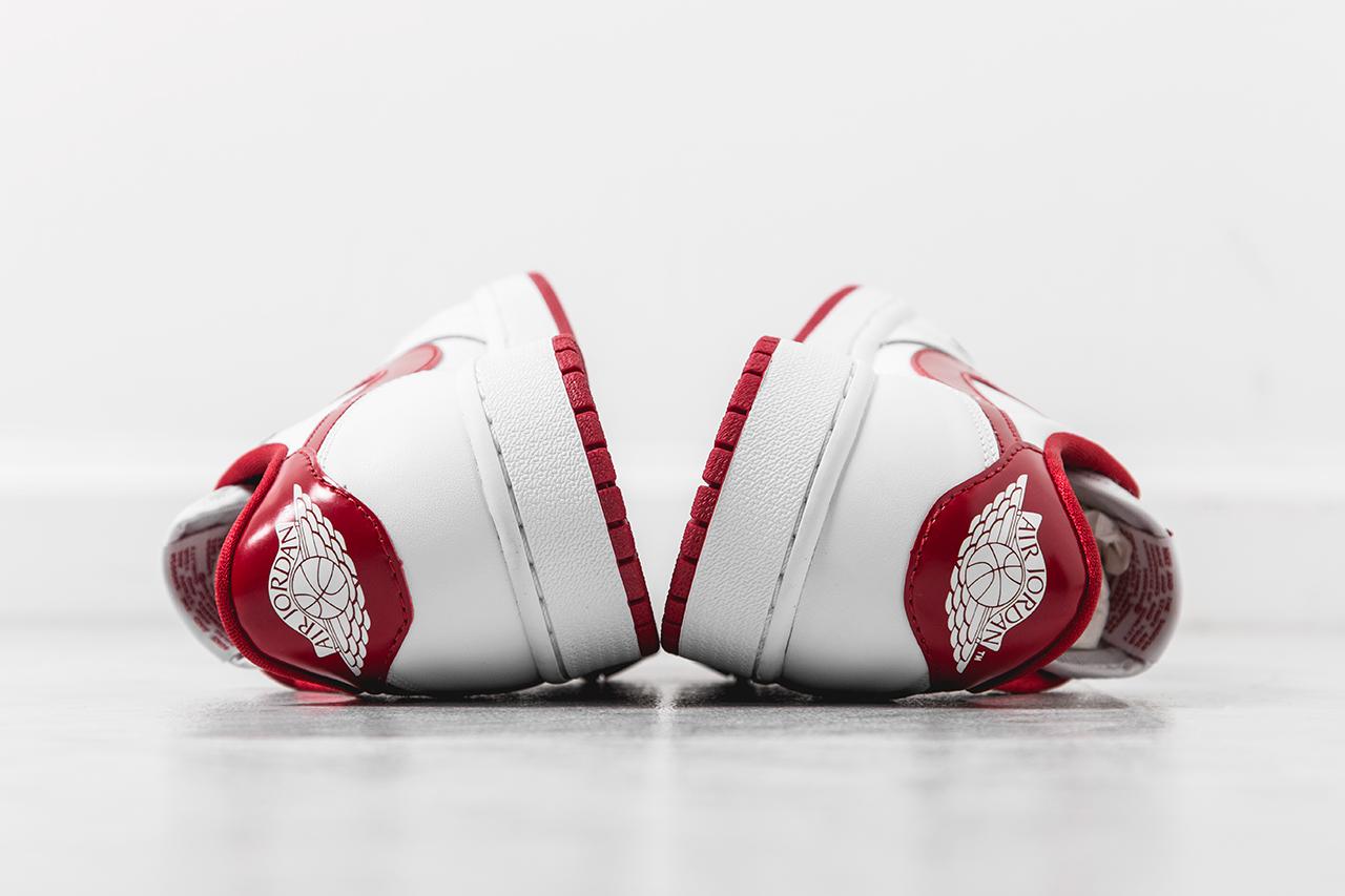 e811dcd0d0b884 Air Jordan 1 Retro Low OG White  Varsity Red - Still Available - Air 23 - Air  Jordan Release Dates
