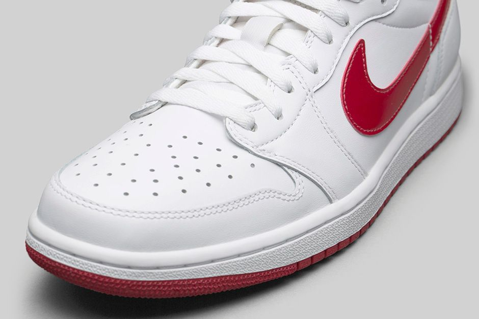 best sneakers 2e3fc 6c9c1 Air Jordan 1 Retro Low OG - White   Varsity Red - Air 23 - Air Jordan  Release Dates, Foamposite, Air Max, and More