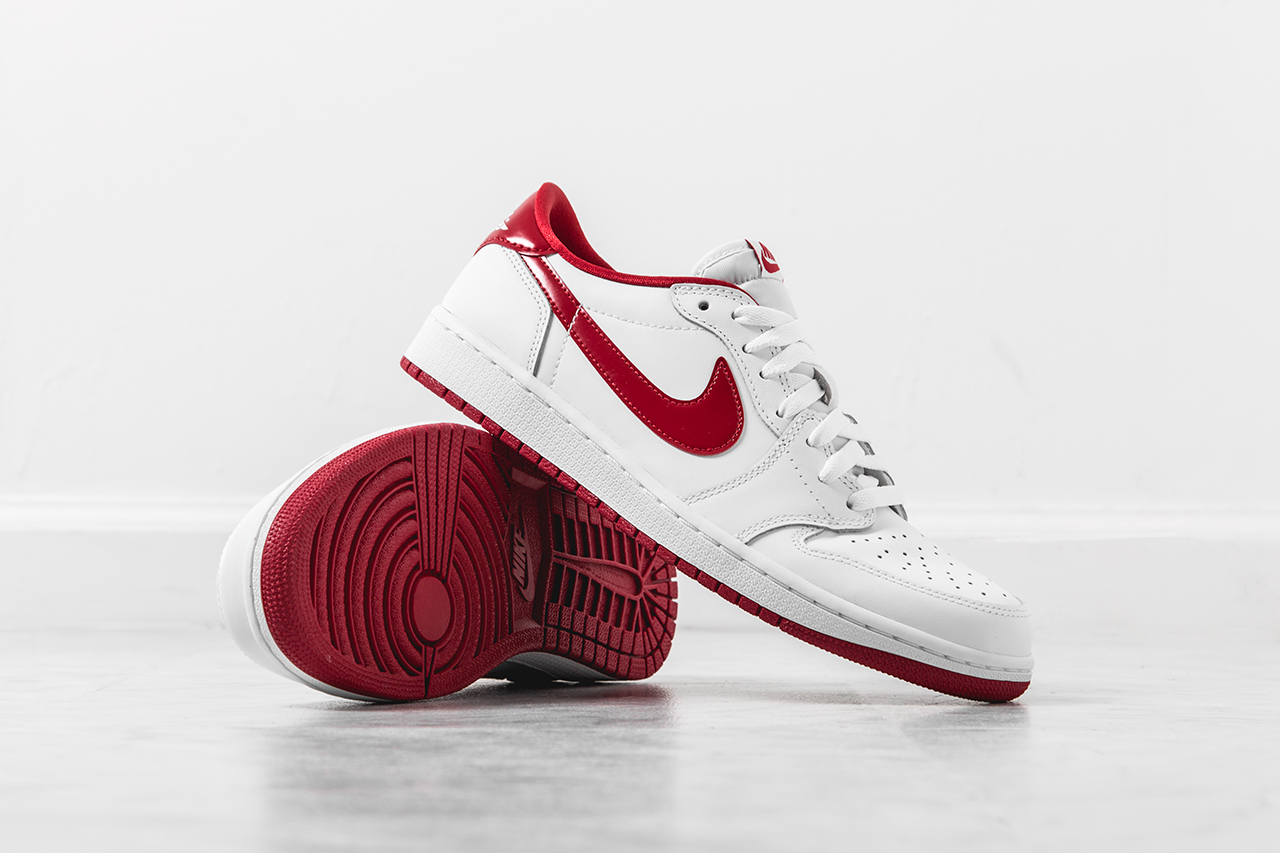1f426e7ab488 Air Jordan 1 Retro Low OG White  Varsity Red - Still Available - Air ...