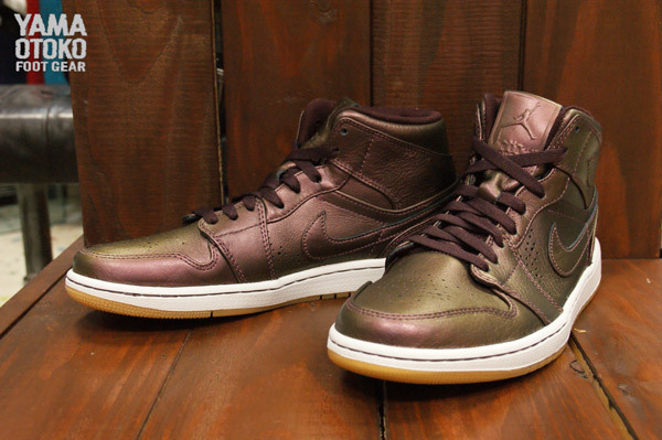 low priced 525df 62534 Air Jordan 1 Mid Nouveau Color  Deep Burgundy Deep Burgundy-White-Gum Light  Brown Style  629151-605