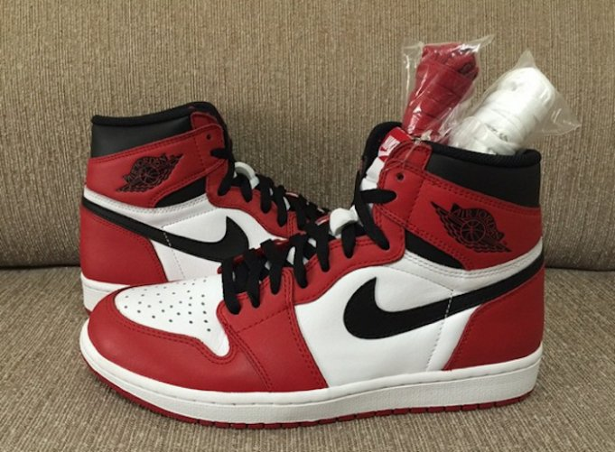 ff842c7f253 Air Jordan 1 Retro High OG Color  White Varsity Red-Black Style   555088-101. Release  05 30 2015. Price   160.00