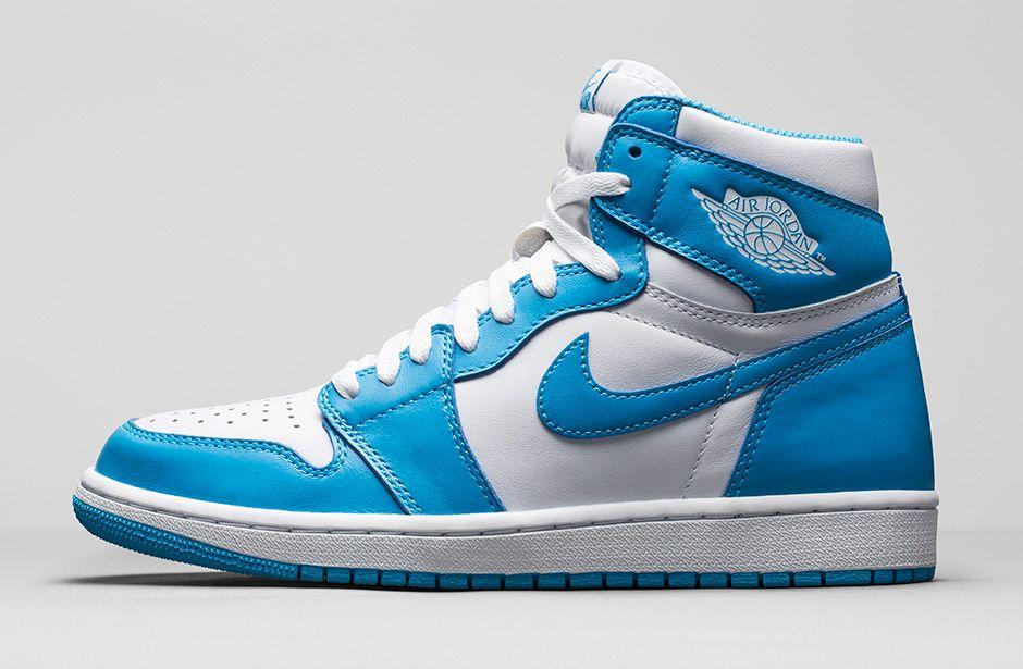 newest dcb82 b0a9e Nike AIR JORDAN 1 One RETRO HIGH OG UNC Powder Blue 555088 117 Mens Size 9