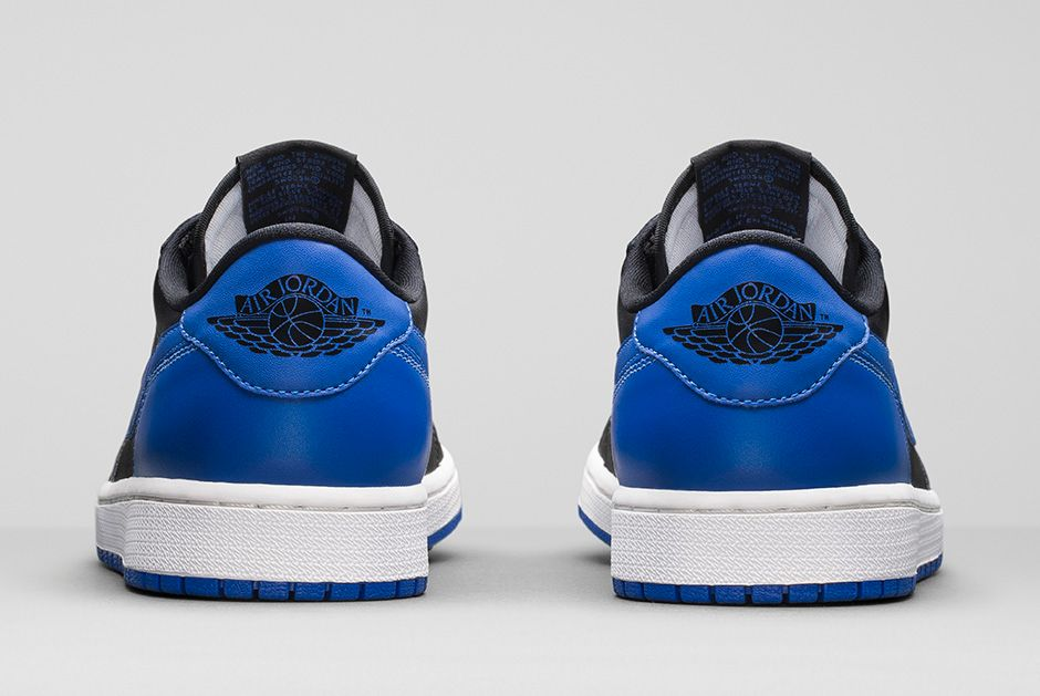 0ab09cb3100 Air Jordan 1 Retro Low OG - Black / Varsity Royal - Official Images ...